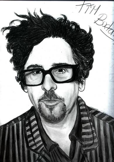 Tim Burton by Jeliza_Rose